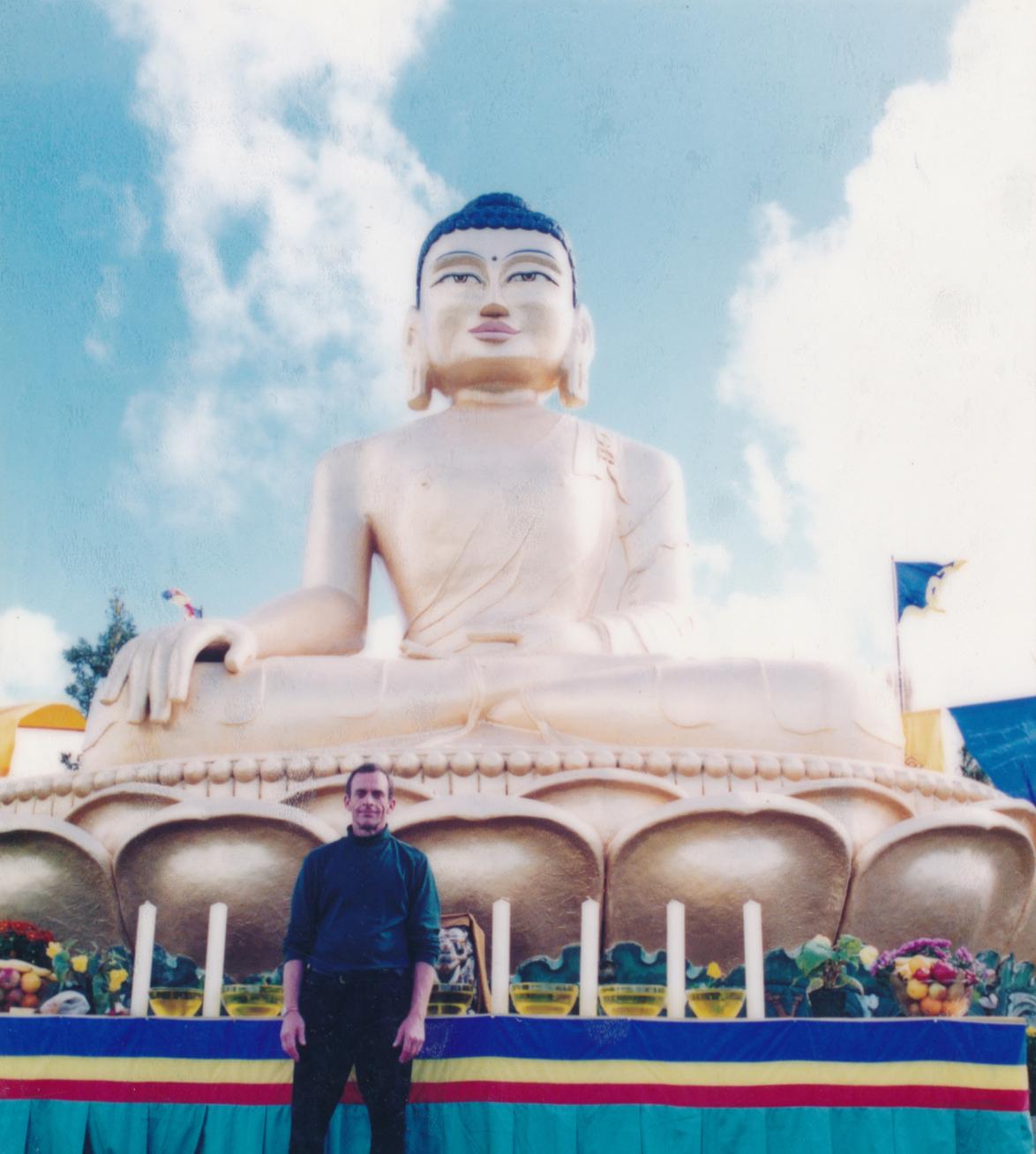 At Karma Choeling Buddhist Monastery near Auckland, New Zealand