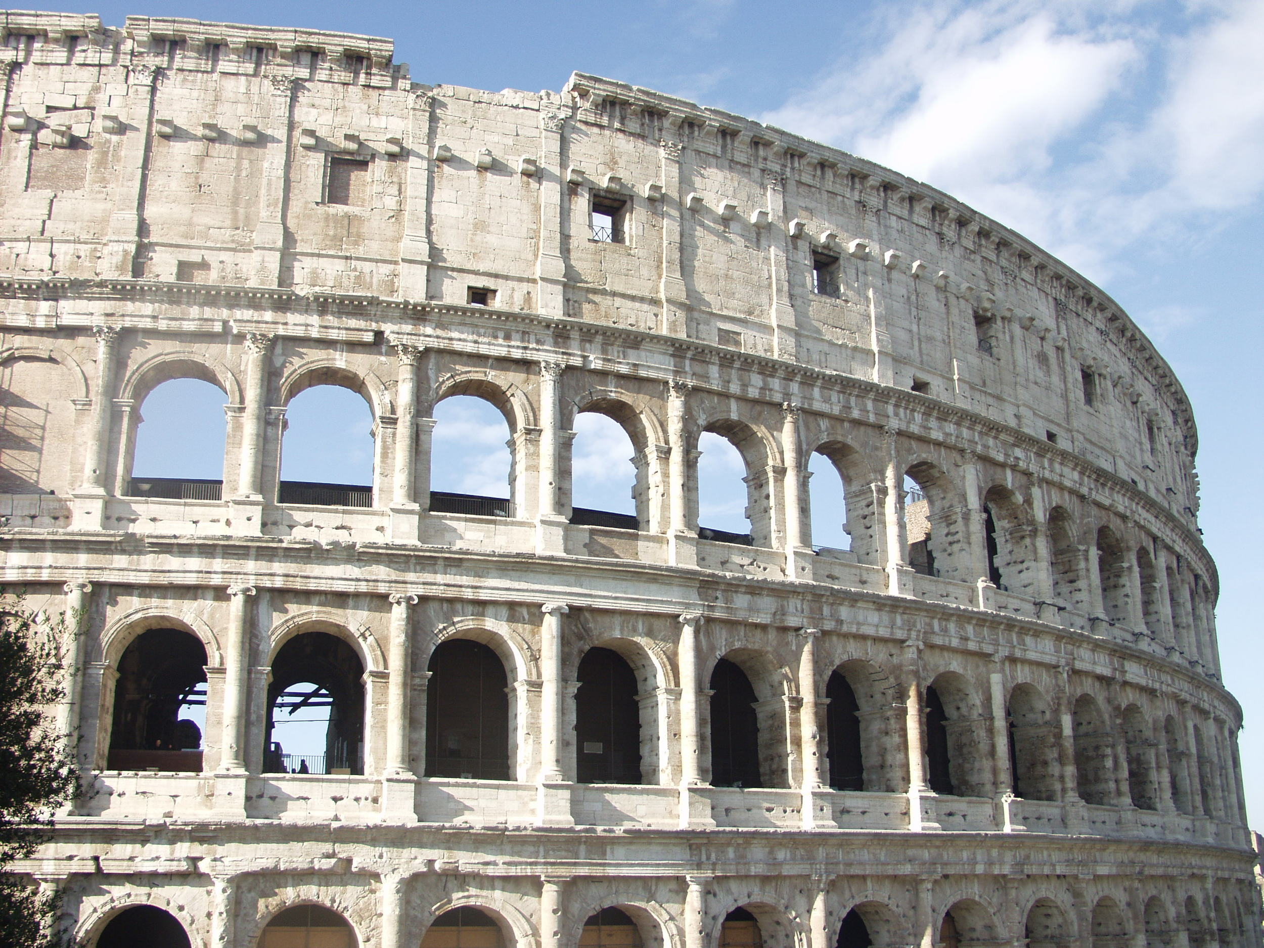 Colosseum in Rome. This amazing structure is almost 2,000 years old