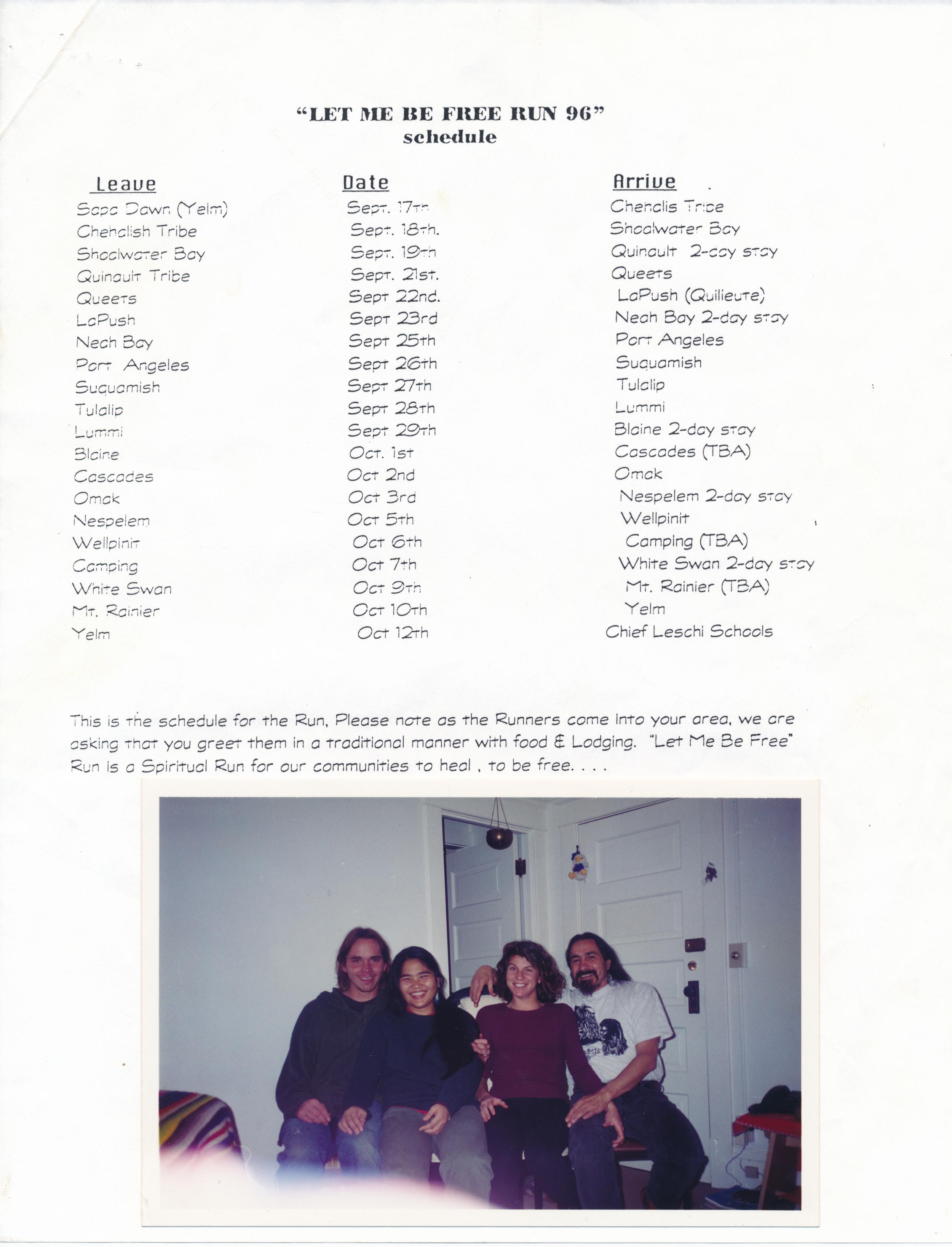 (L_R) Zac & Saiko, Sue Andrew & Aurellio