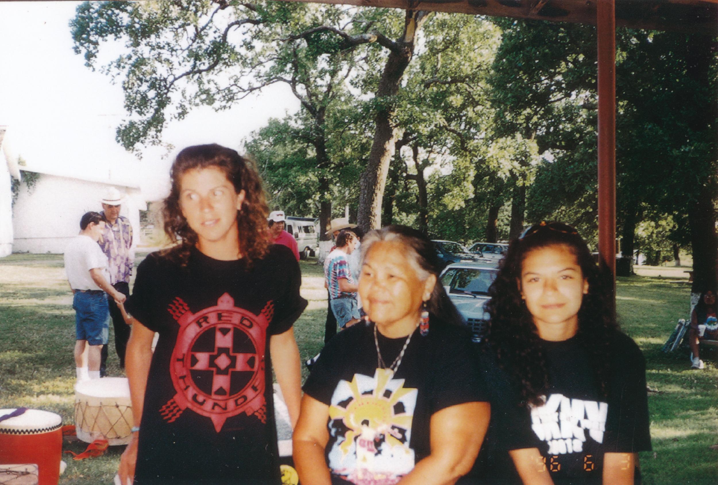 (L-R) Sue, MJ & Jessica