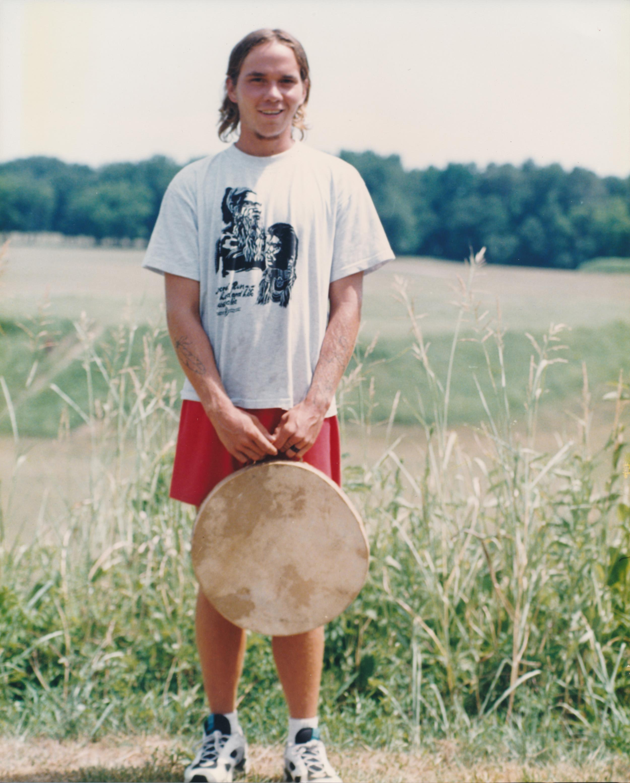 Zac - Anishinabe runner from Minnesota