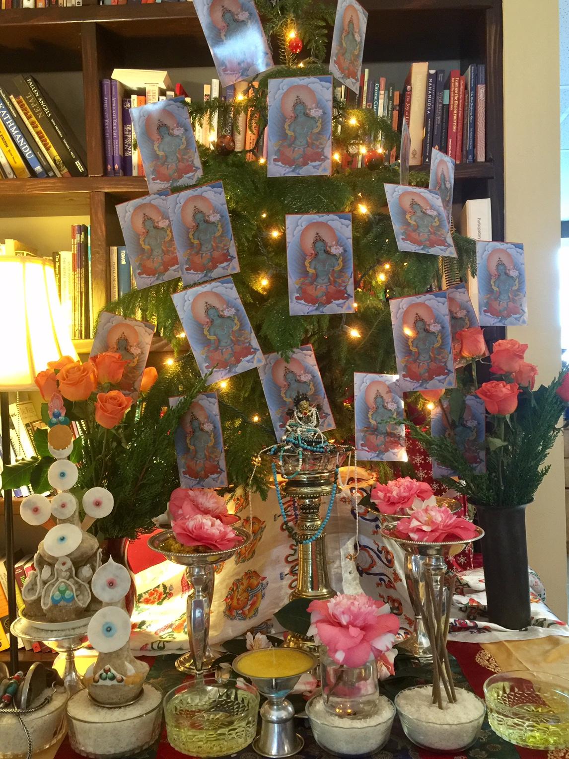Mother Tara Wisdom Christmas Tree 2016.JPG