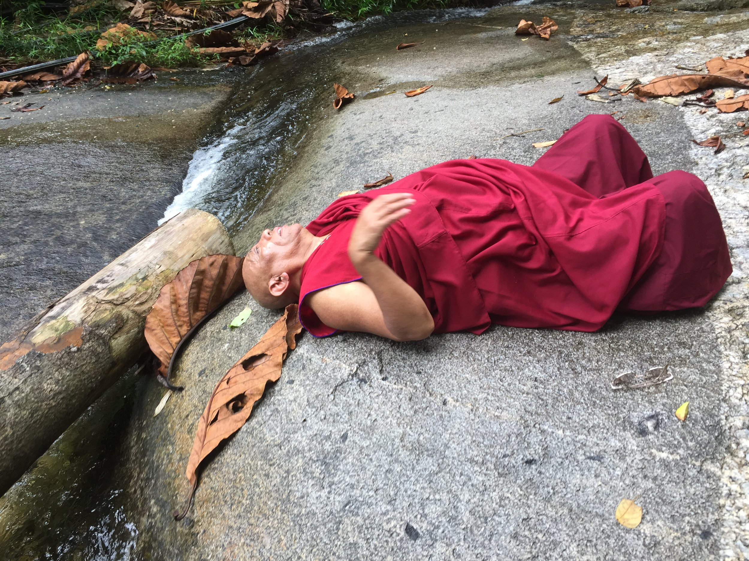 Lama says when you get old, this is how you meditate