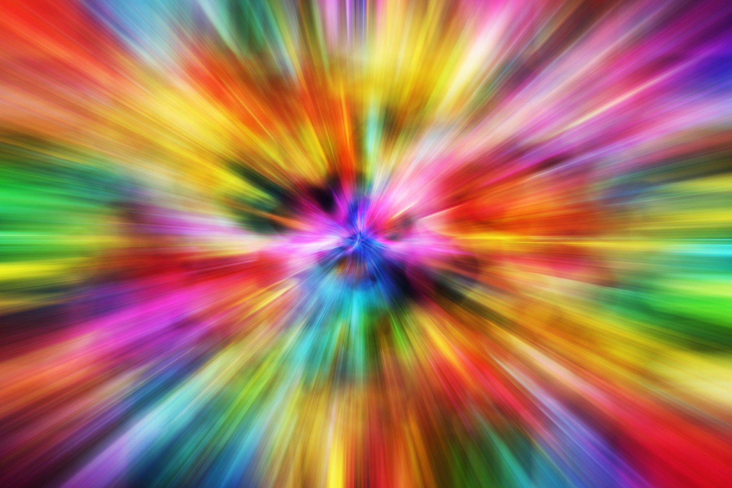 Colorful Motion Blur