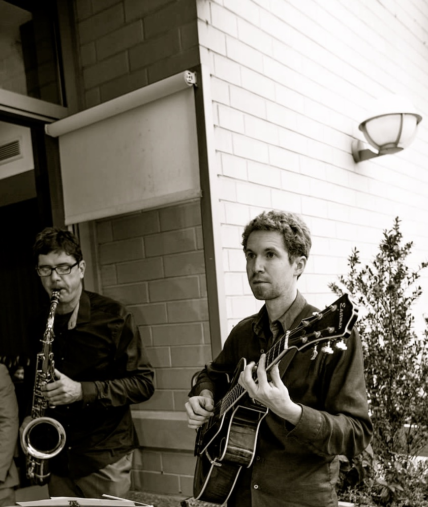 Andrew Hartman and Chris Cheek, playing duo in Queens, NY