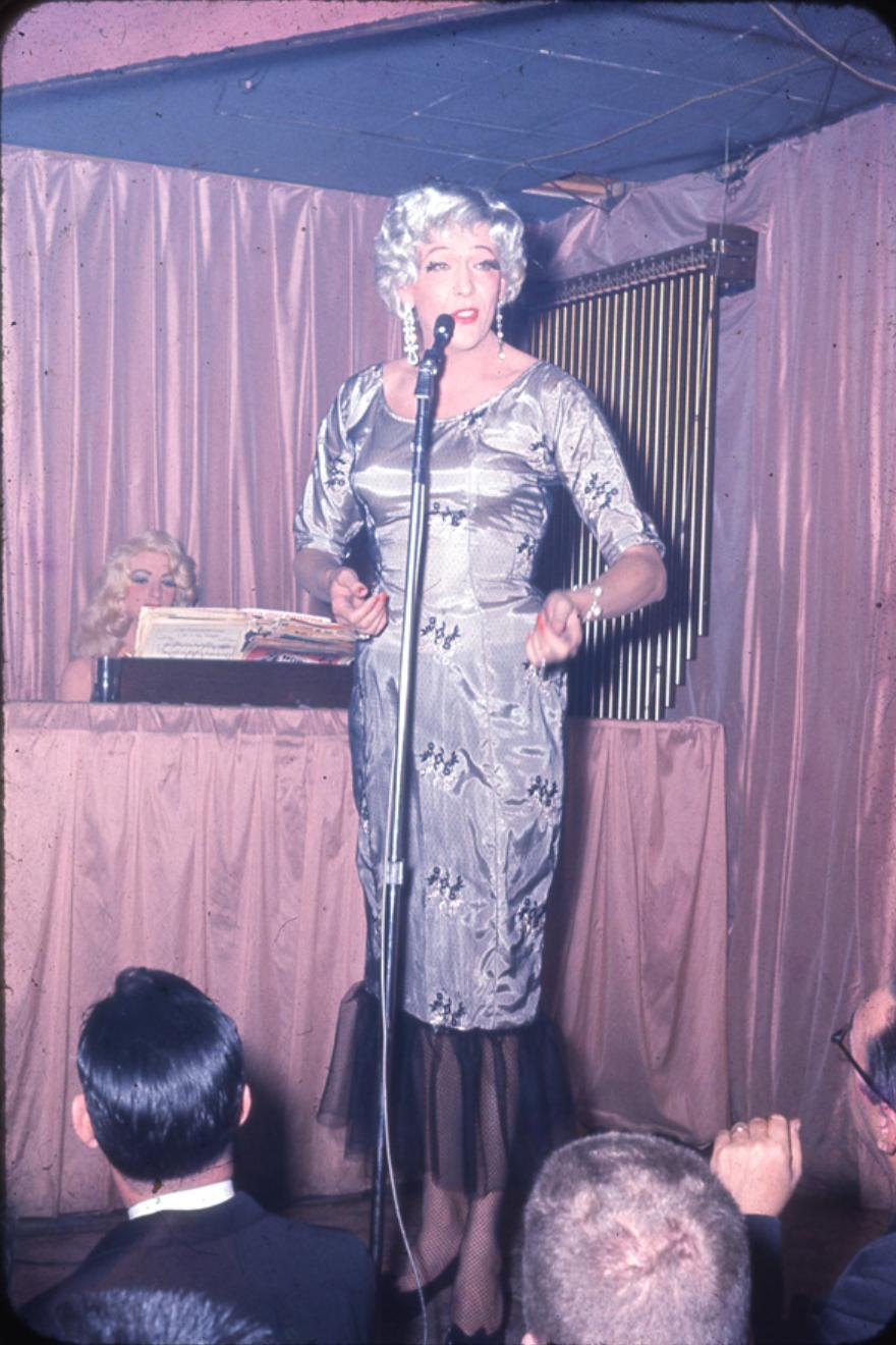 Skip Arnold at The Jewel Box, 1959