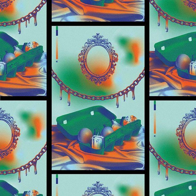 Eggs Over Chlorine No. 9 — 3/0 risograph on 65C Berrylicious — edition of 50 — $10 ea. (Link in bio) __  #eggsoverchlorine #selectedwork #risograph #visualmelt #graphicindex #artprint  #printedmatter #surrealism #stfranciselevatorride