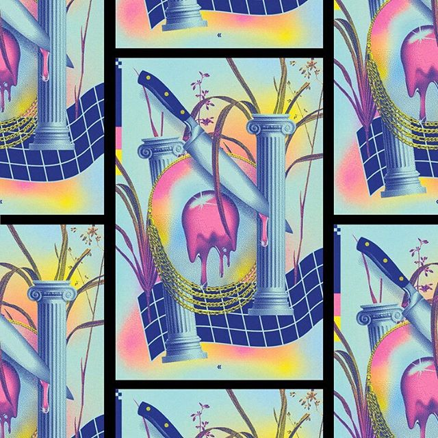 ~~INTERNET SPECIAL~~ Memorial day weekend sale Eggs Over Chlorine No. 10 — 5$ — 3/0 risograph — edition of 50. All eggs half off till Tues. (#linkinbio) __  #eggsoverchlorine #selectedwork #risograph #visualmelt #graphicindex #artprint  #printedmatter #surrealism #stfranciselevatorride