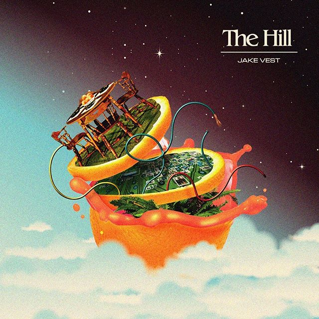The Hill — First single by my pal @jake_vest off his new fantastic new record, 𝕻𝖆𝖗𝖆𝖉𝖎𝖘𝖊 𝕺𝖋𝖋𝖑𝖎𝖓𝖊. Vinyl Pre~order available through his Bandcamp! The Hill now streaming where you stream music.  #paradiseoffline #americangrapefruit #highlowrecording #graphicindex #coverdesign #albumartwork #stfranciselevatorride