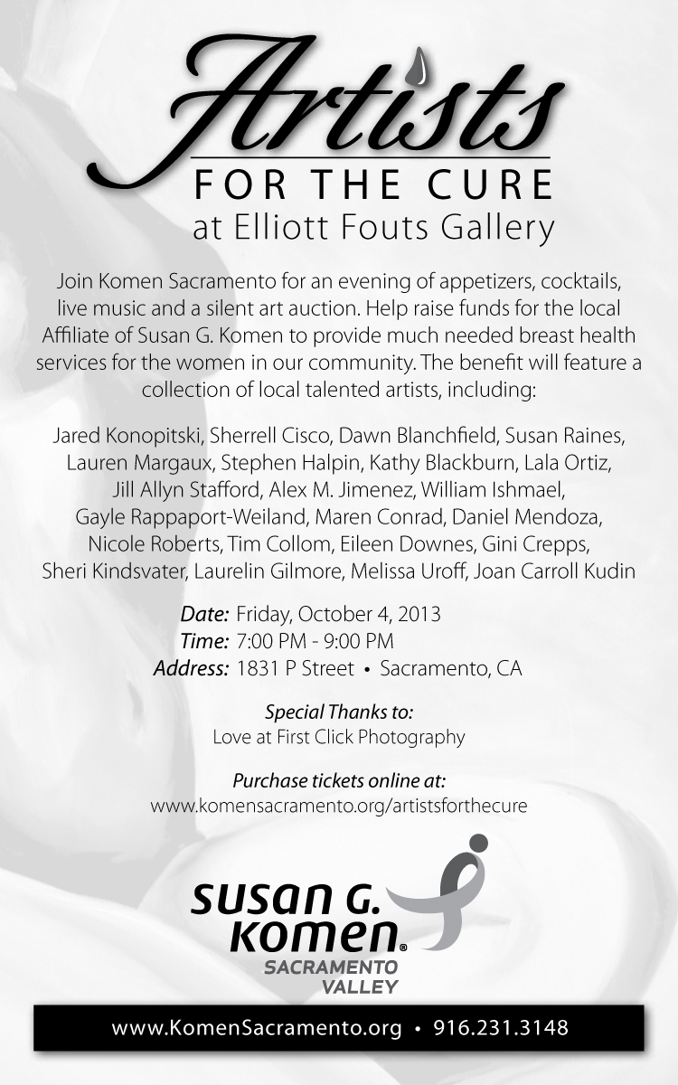 Susan G. Komen | Artists for the Cure event