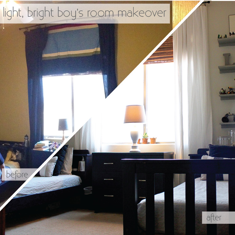 boys room makeover image