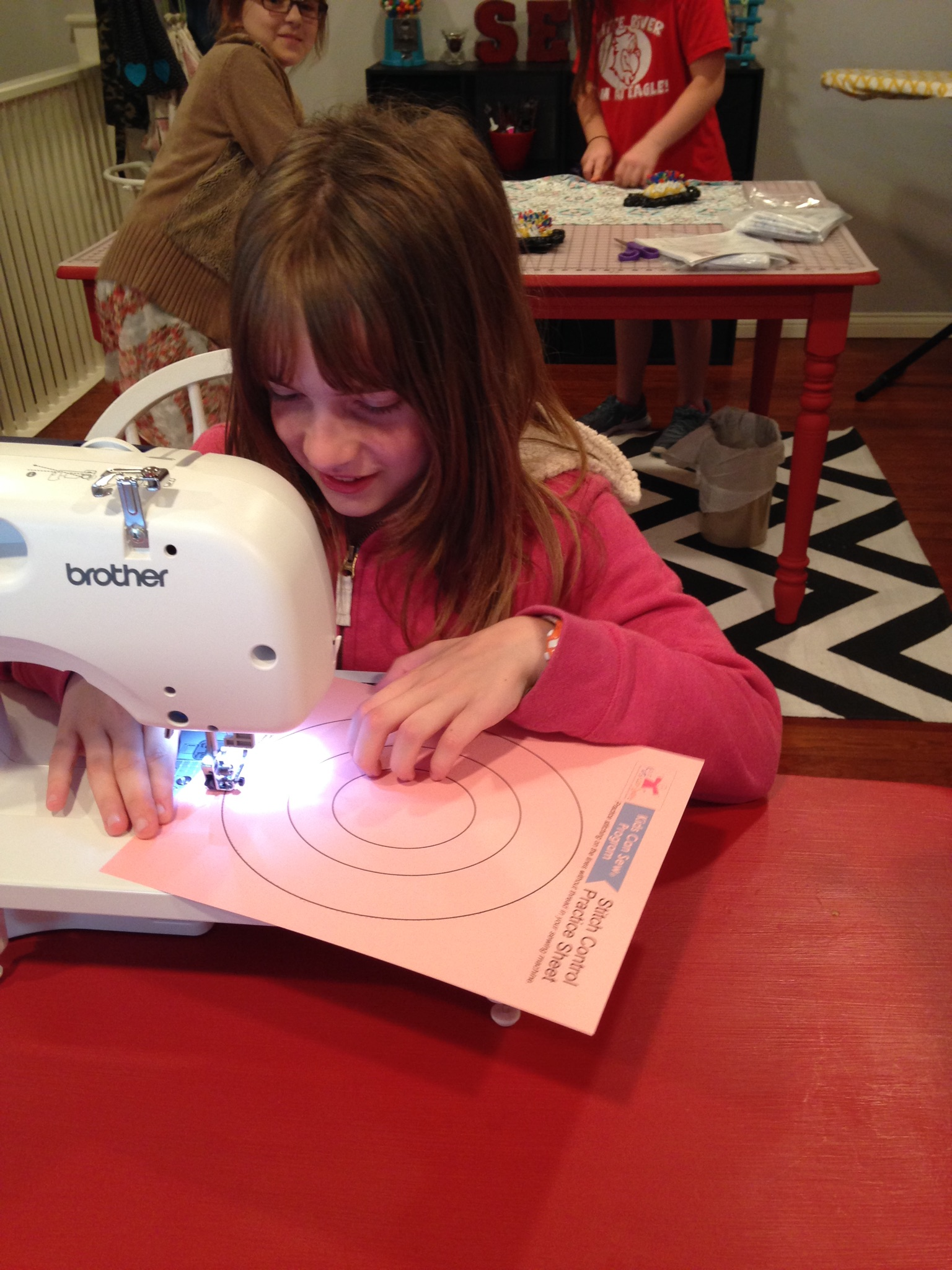 We SEW love when we get a new student... Welcome!!!