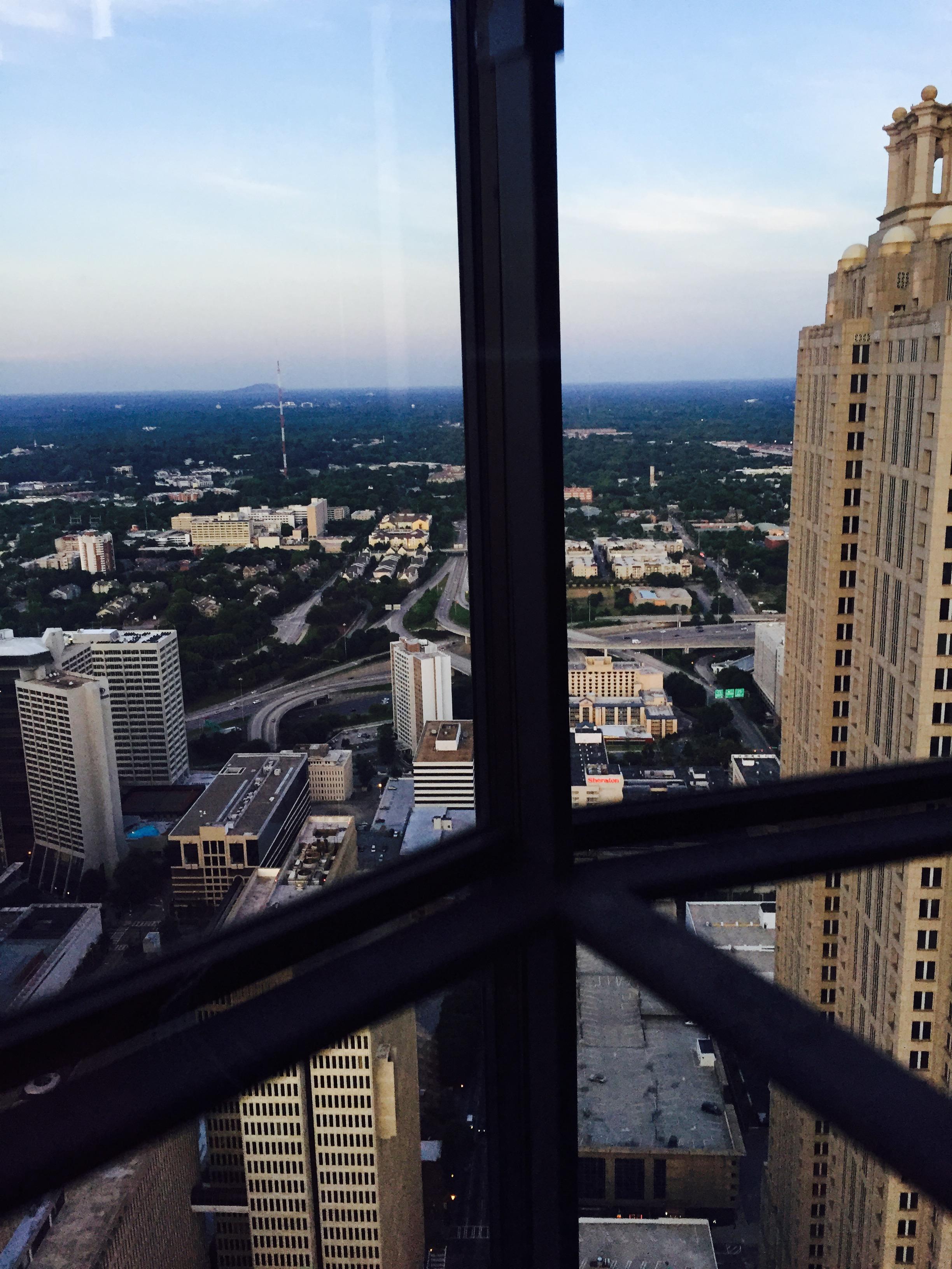 Up, up and away at the Westin Atlanta