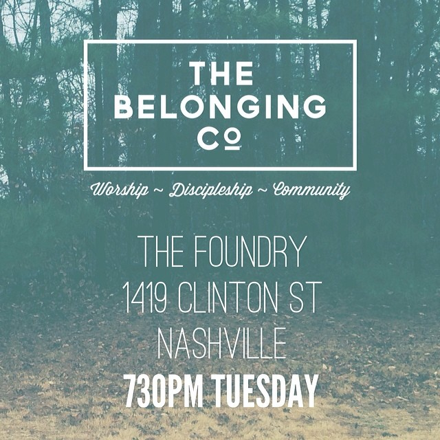 730pm Tuesday Night  The Foundry 1419 Clinton St Nashville TN 37203  See you there! #bringafriend #isittuesdayyet