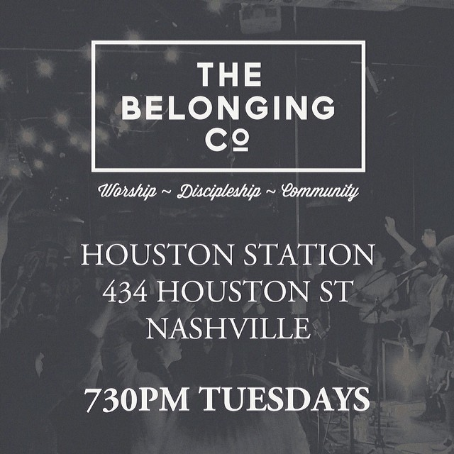 We're stoked to be back at Houston Station 730PM TONIGHT!  #bringafriend  @thebelongingco