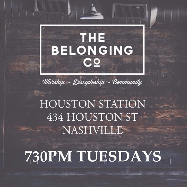 We're excited to announce that as of this Tuesday we will be meeting at Houston Station / 434 Houston St Nashville. We'd love to see you there!