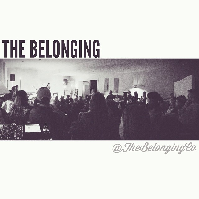 What a great night of worship... And @alexseeley's word was powerful! We love what God is doing here in Nashville!  #TheBelonging