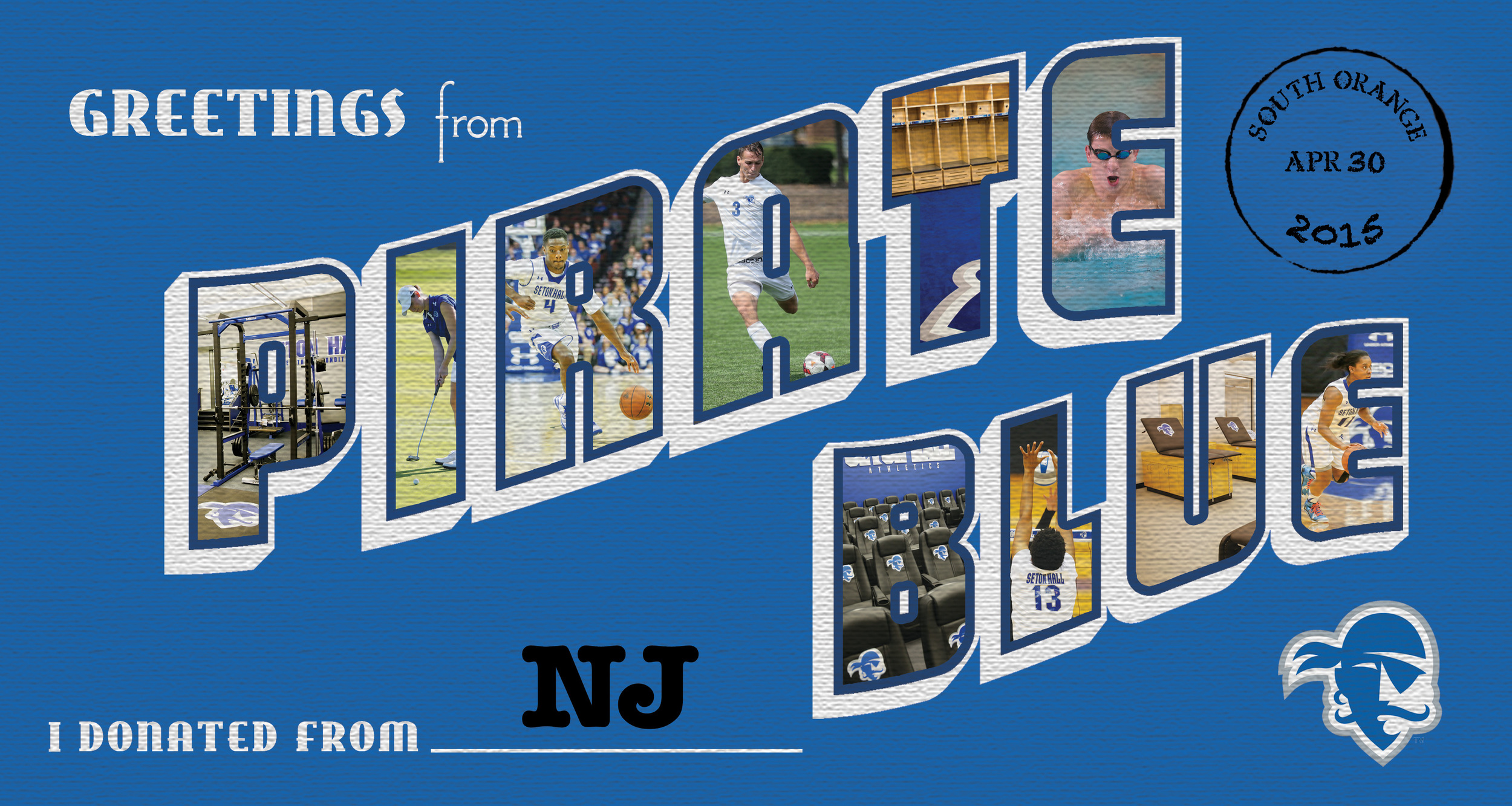 National Direct Mail Piece for the Pirate Blue Athletic Fund