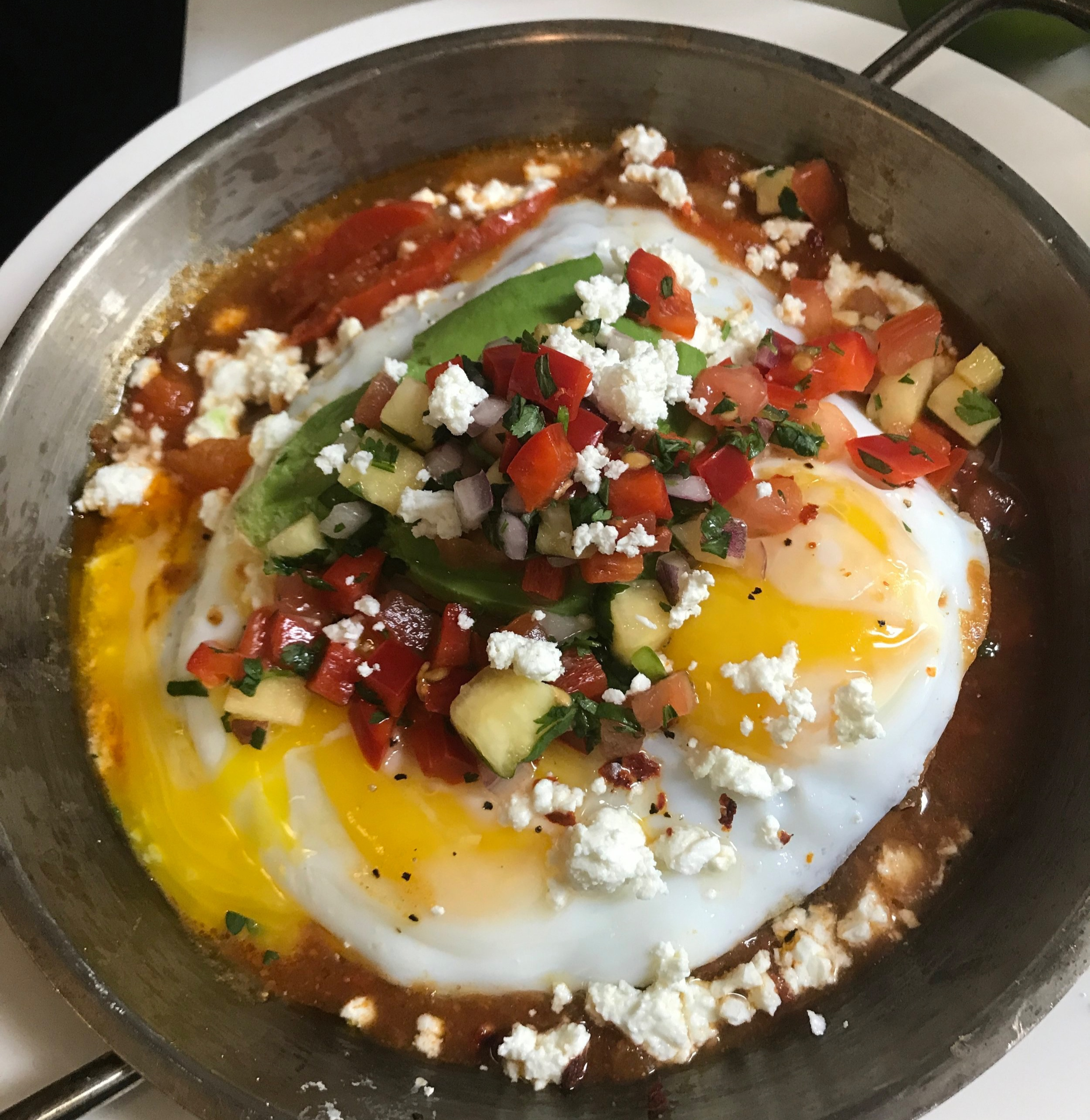 You Don't Want to Miss This! - Special Dishes include:Shakshuka Ranchera (brunch only)Eggs cooked in spicy tomato-red pepper sauce with tortilla tostada, frijoles, avocado, pico de gallo & fetaTacosChicken ShawarmaSiske - Kurdish Style Slow-Cooked BeefSautéed Veggieseach served in corn tortilla with guacamole, pineapple-pico de gallo, shaved cabbage & smokey yogurt sauceSpecialty Cocktails:Watermelon MargaritaSmokey Pineapple Arak-aritaBloody Maria