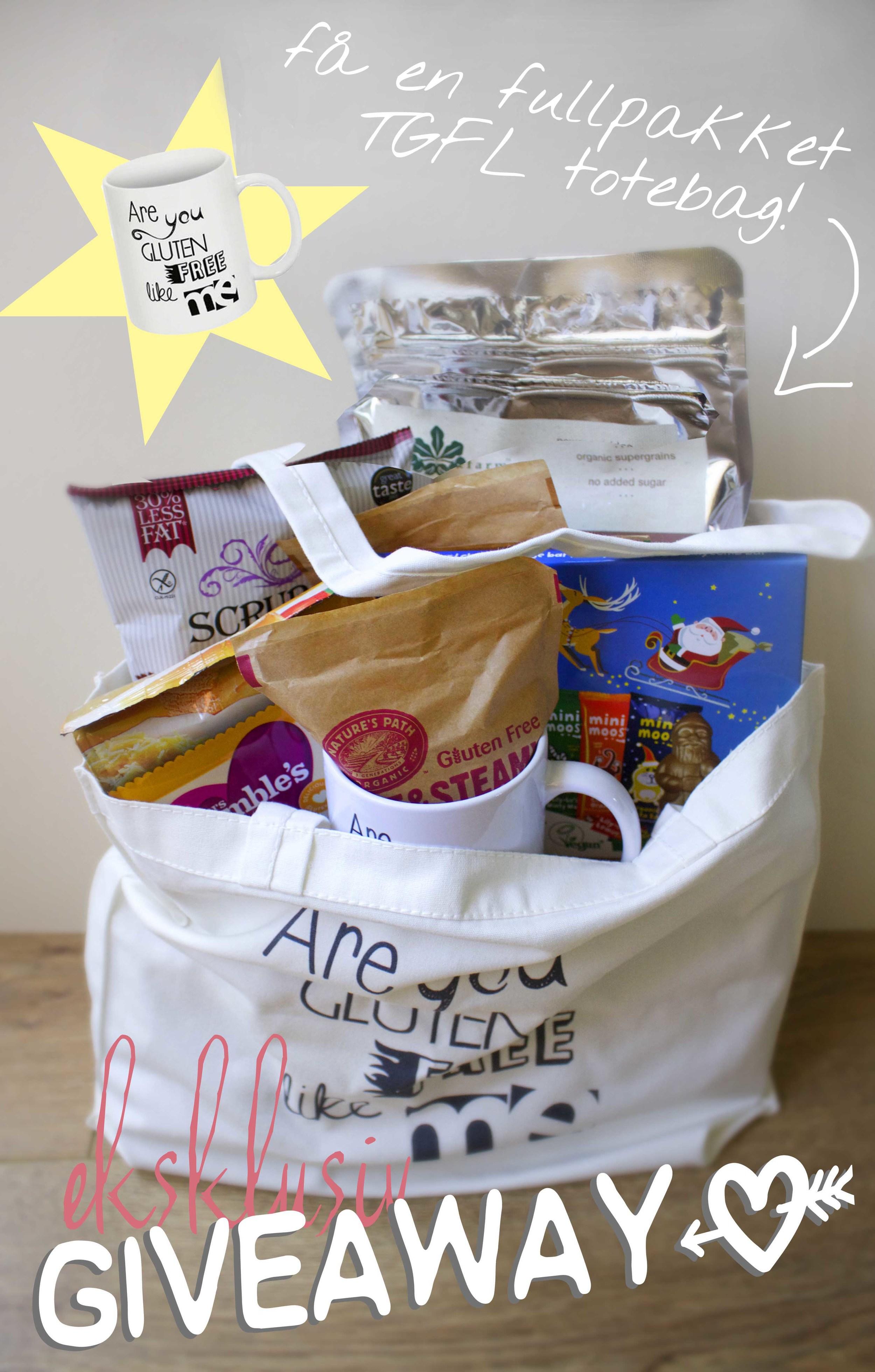 glutenfri giveaway på The Gluten Free Lifesaver