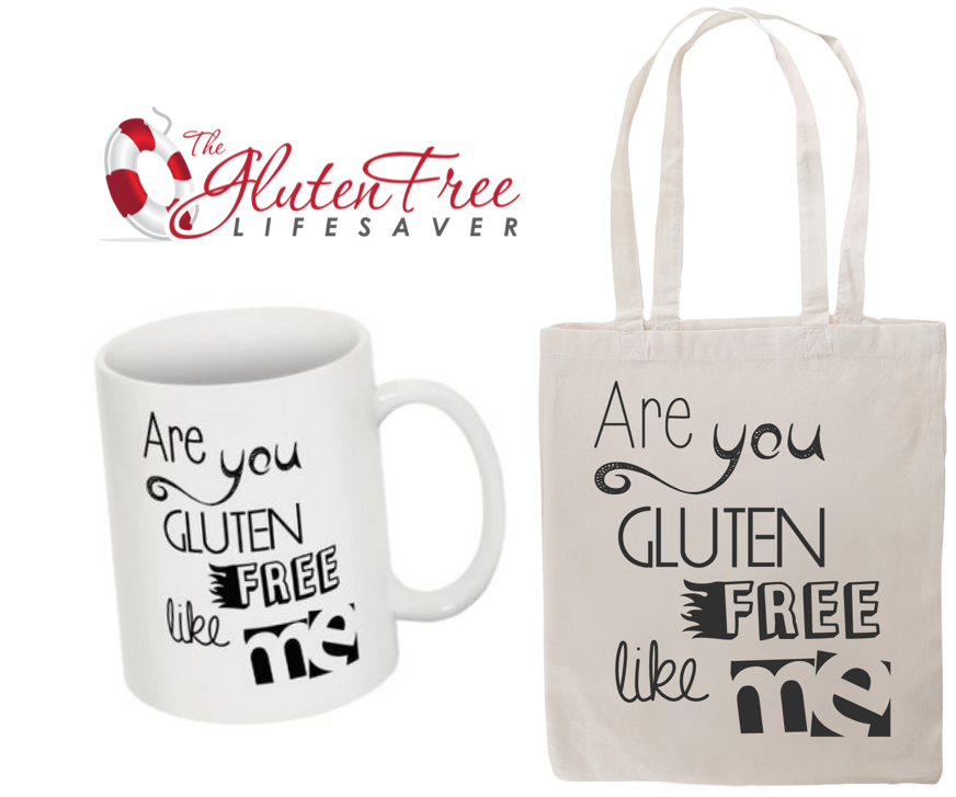 Vinn The Gluten Free Lifesaver ekslusive totebag og kopp - Giveaway