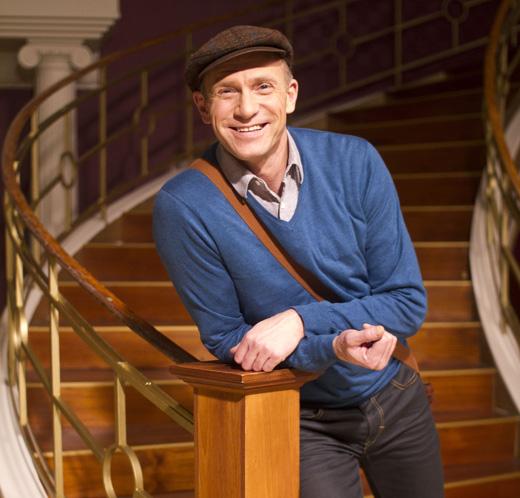 CÆSAR-KJENDIS: Christer Tornell gjorde suksess i Hotell Cæsar på Tv2, hvor han spilte rollen som Runa's ukjente far, Jan Stang Egeland i sesong 29.  Foto: Tv2