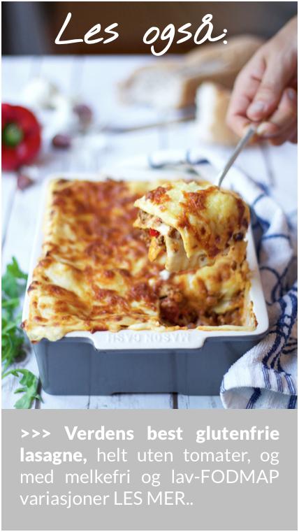 Verdens beste glutenfrie lasagne oppskrift