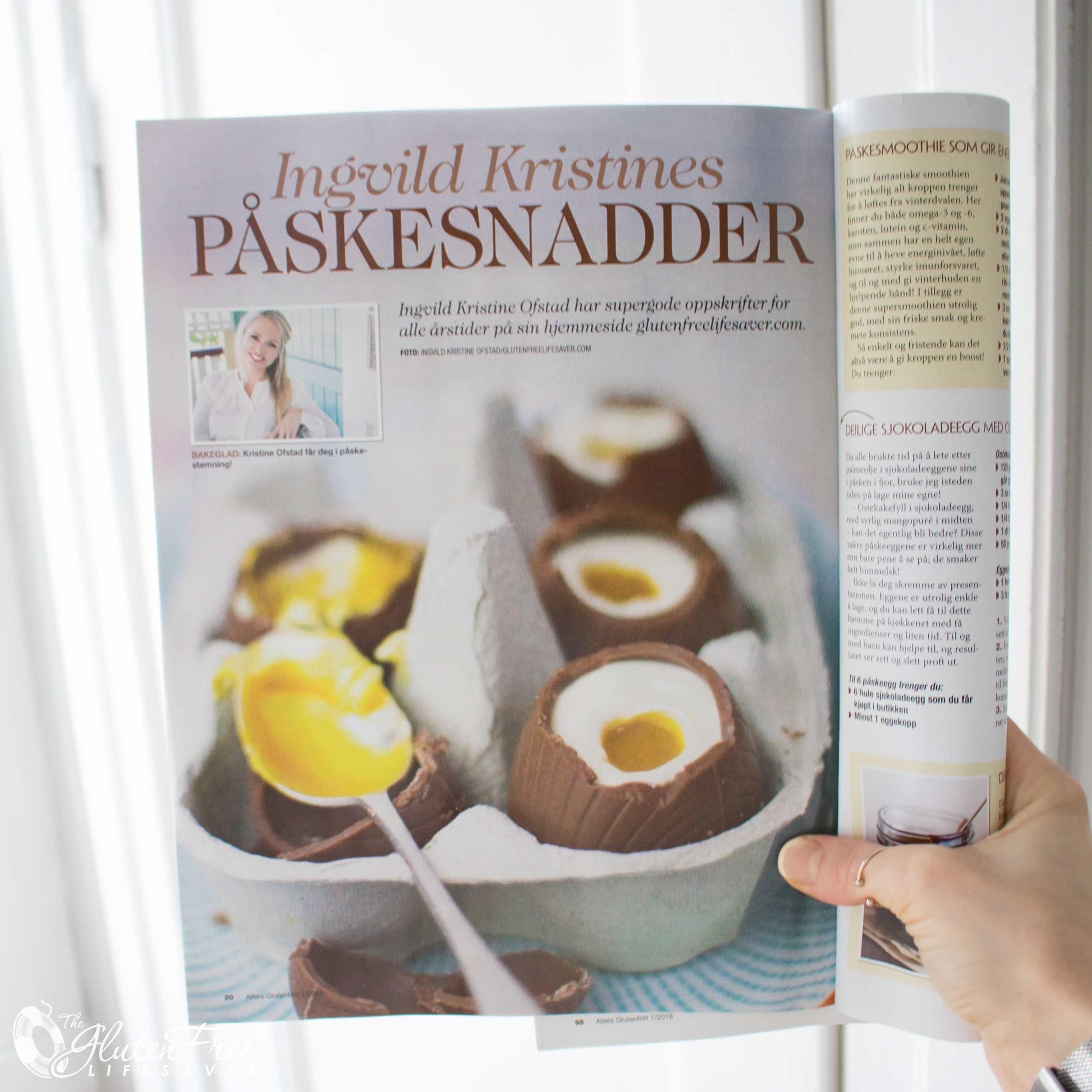 Ingvild Kristine Ofstad i Allers Glutenfritt - P�ske