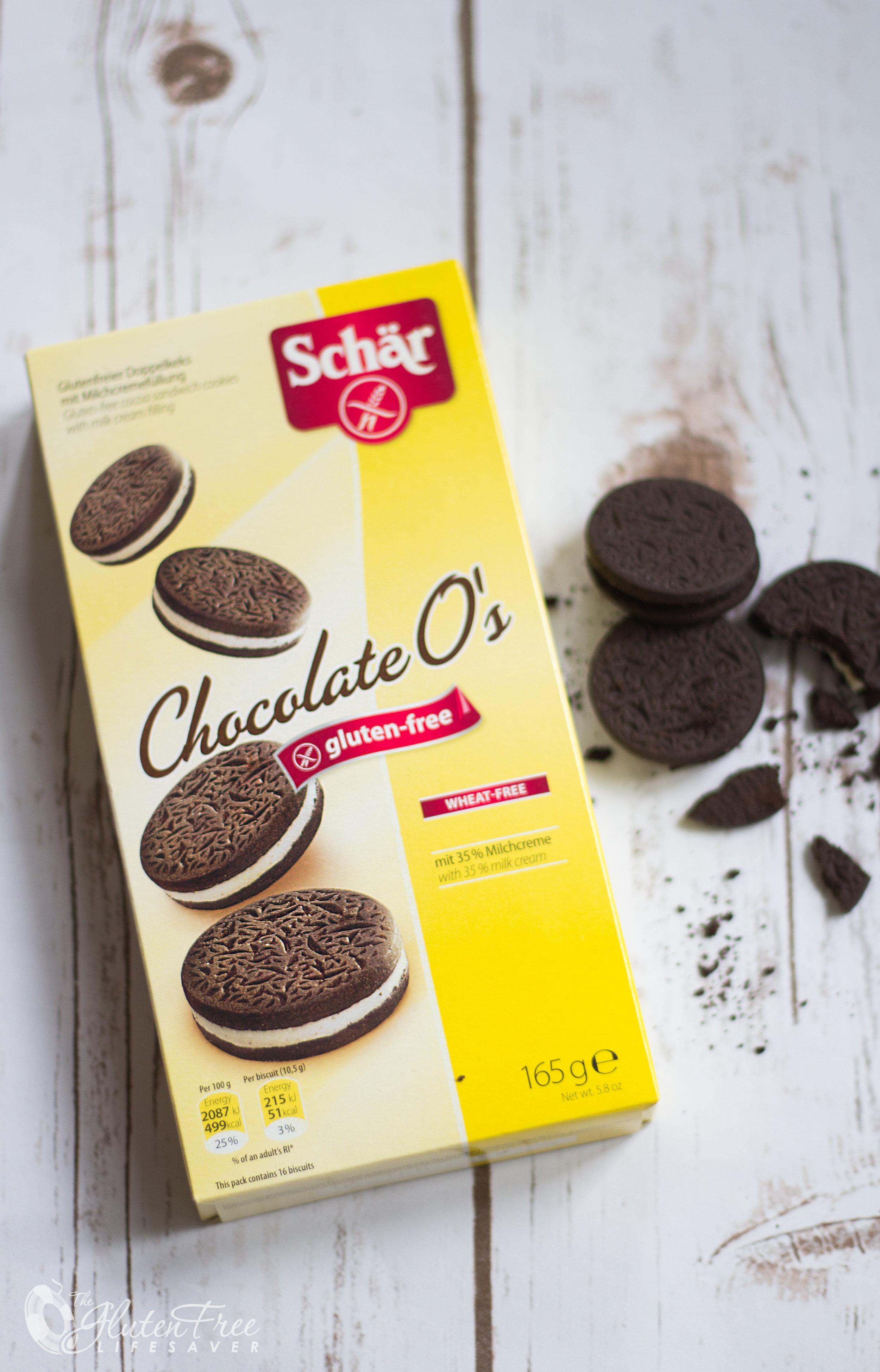 Deilig, hjemmelaget glutenfri oreo-is cookies and cream