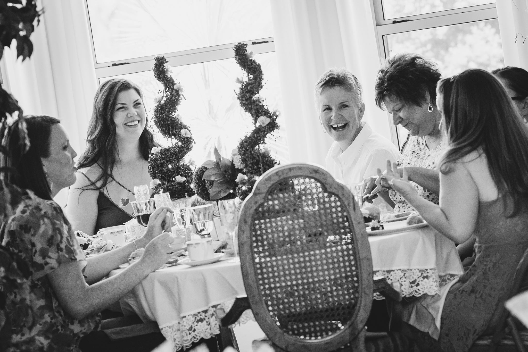 tiffany-bridal-shower-black-and-white-laughs