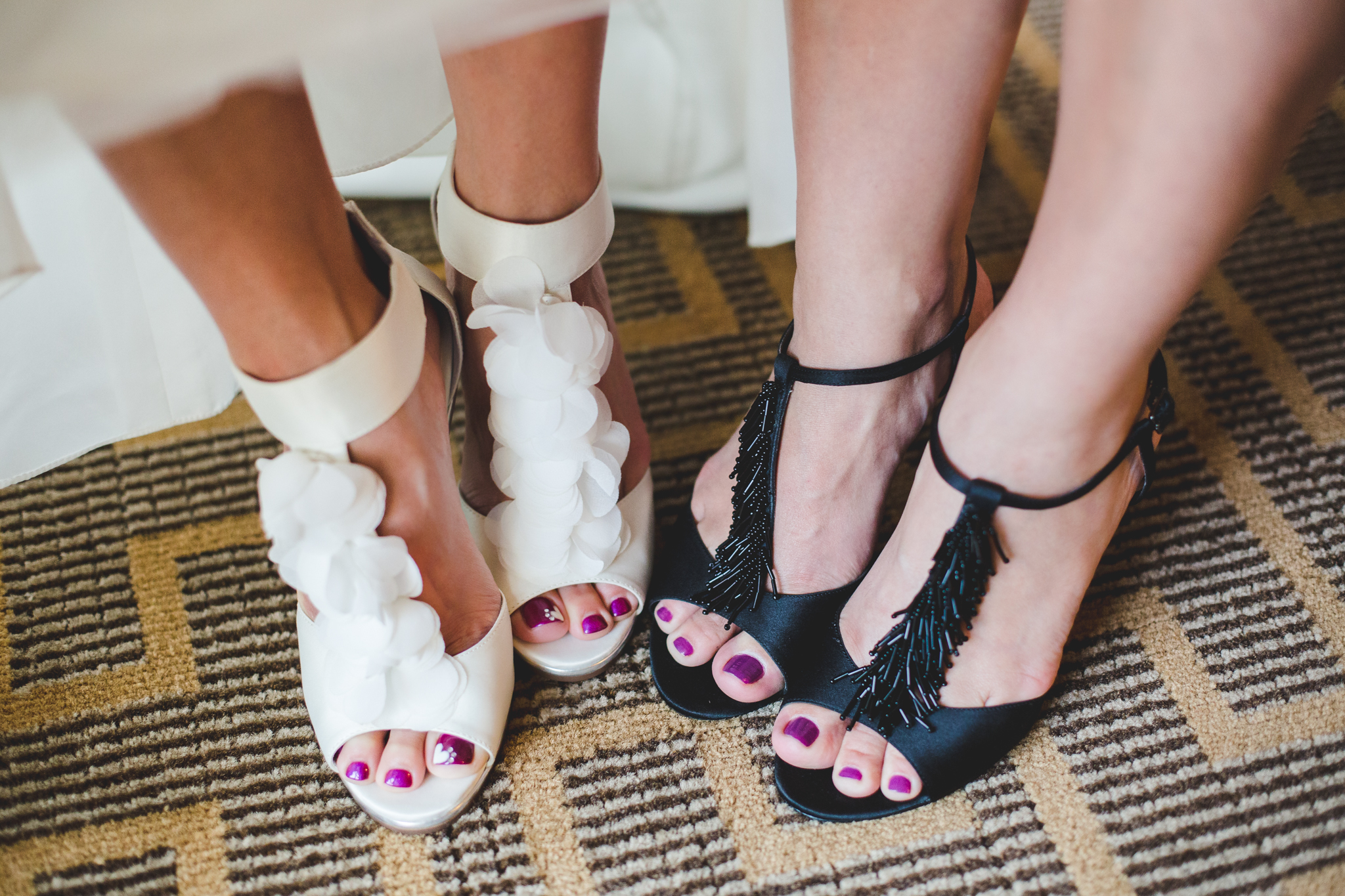 all about the wedding shoes