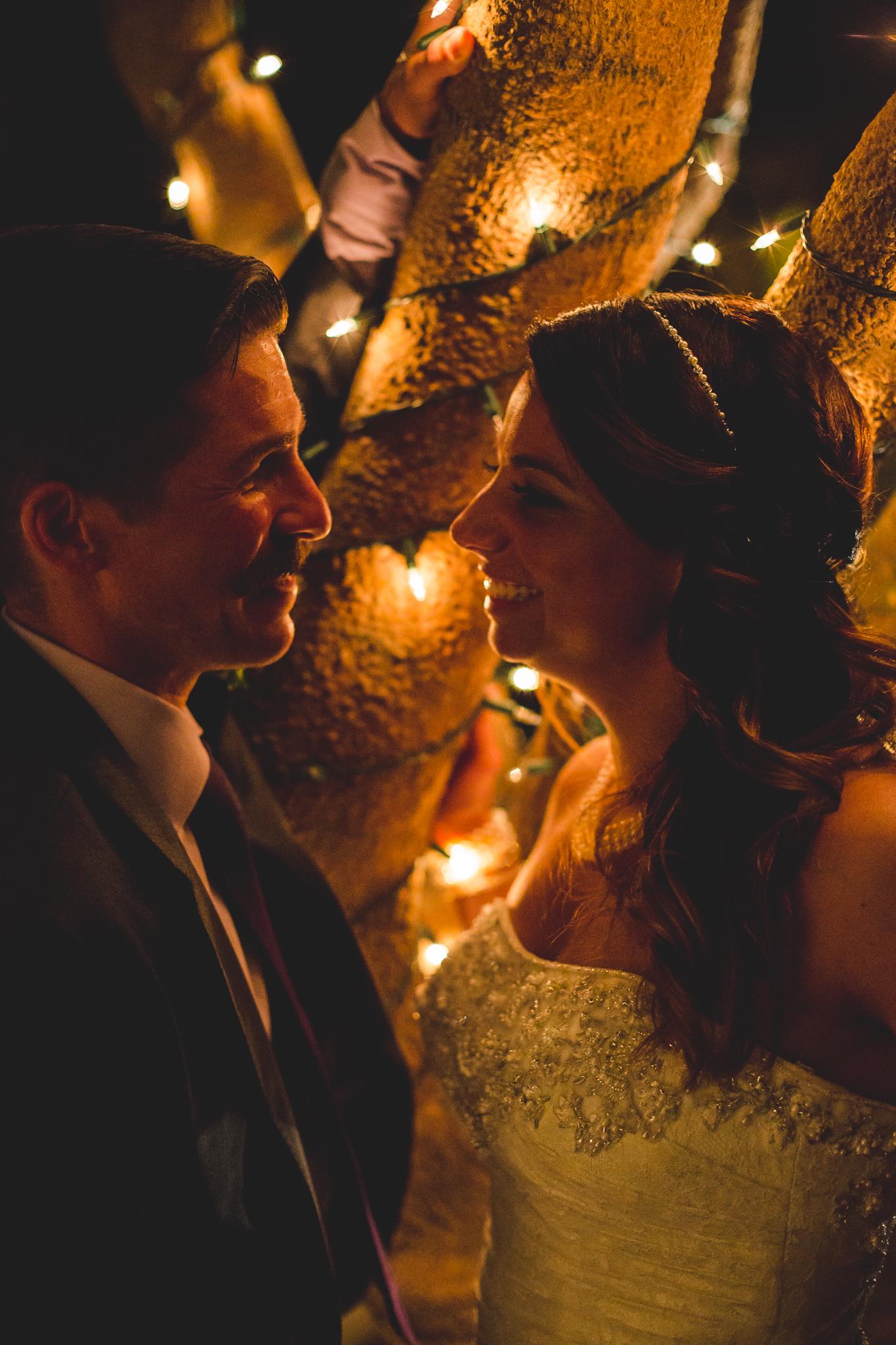 aaron kes photography camelback inn wedding romantic twinkle lights photo