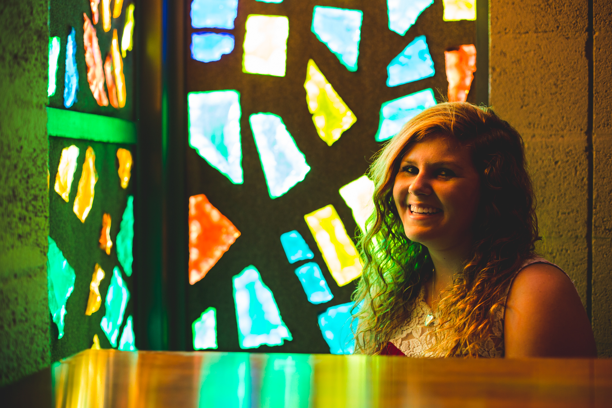 Marissa Laughs Stained Glass Photography