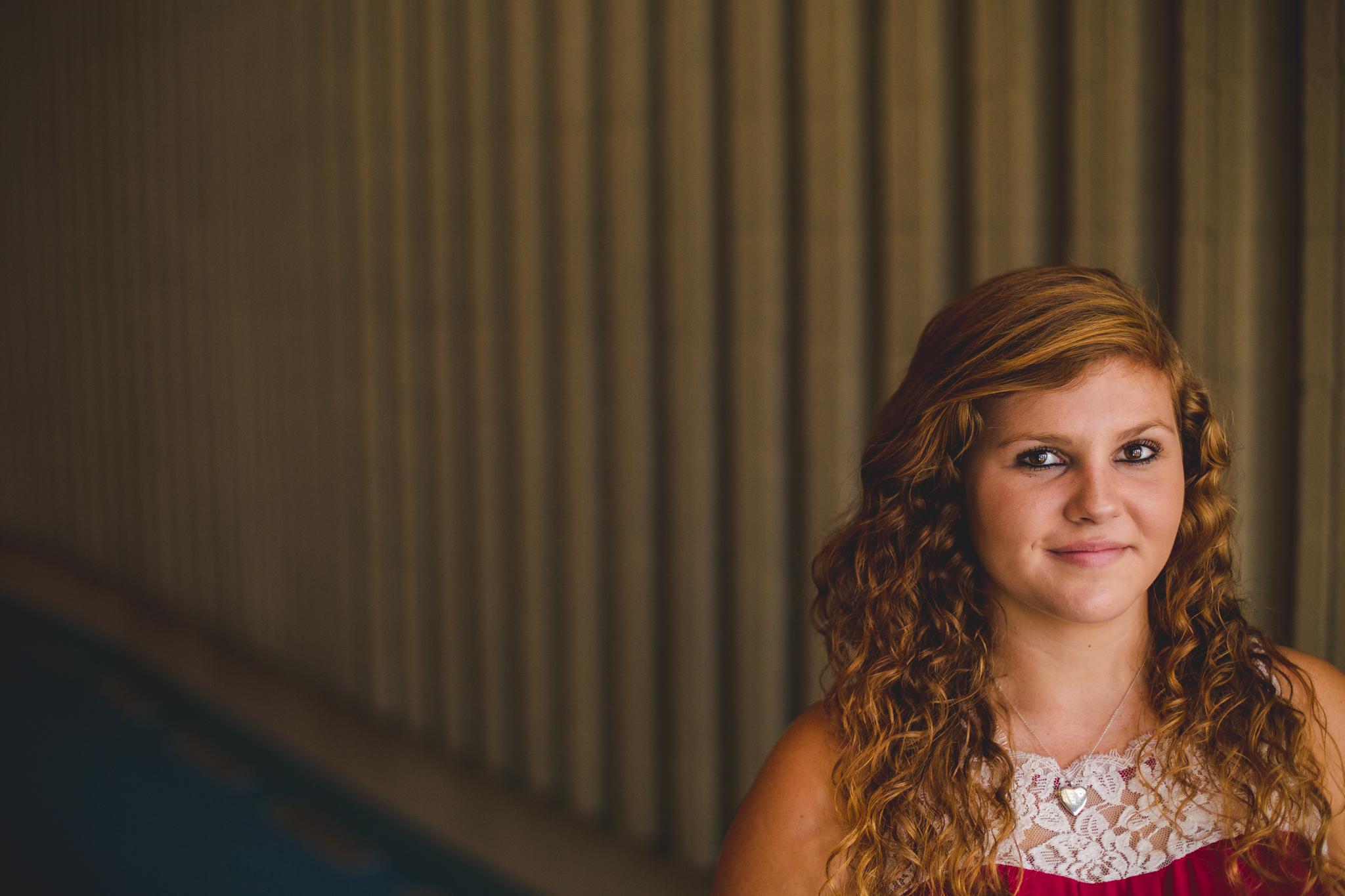 Phoenix Senior Photo Window Light Marissa