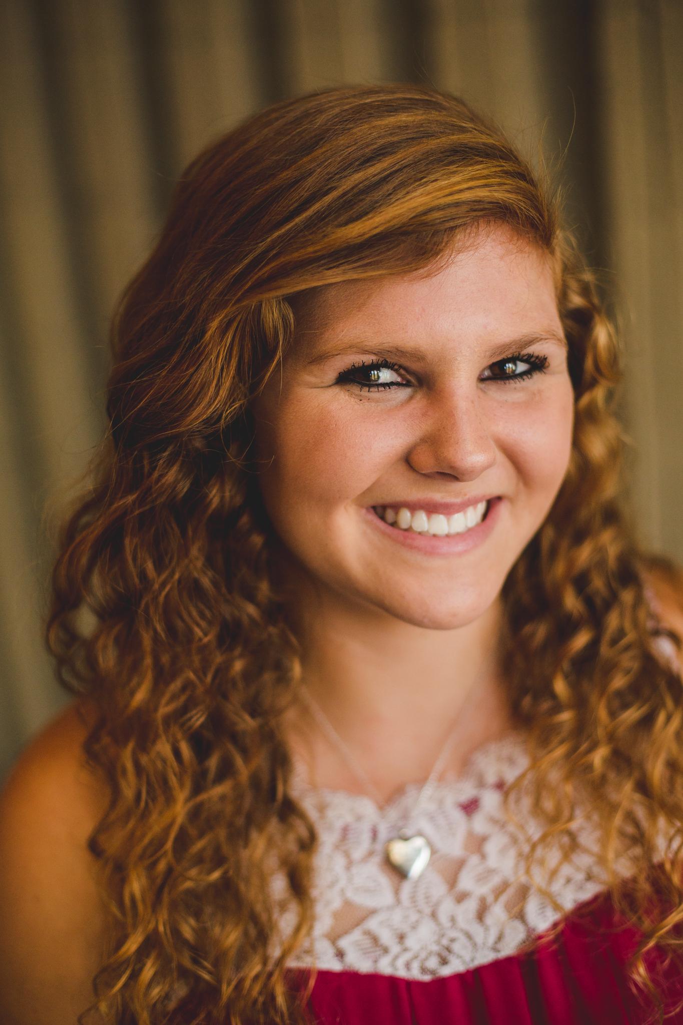 Phoenix Senior Marissa Smiles Window Light