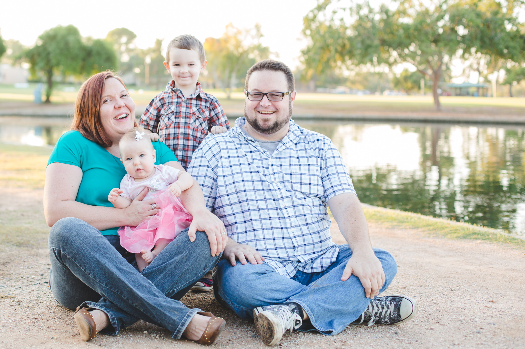 scottsdale family photographer color park houle