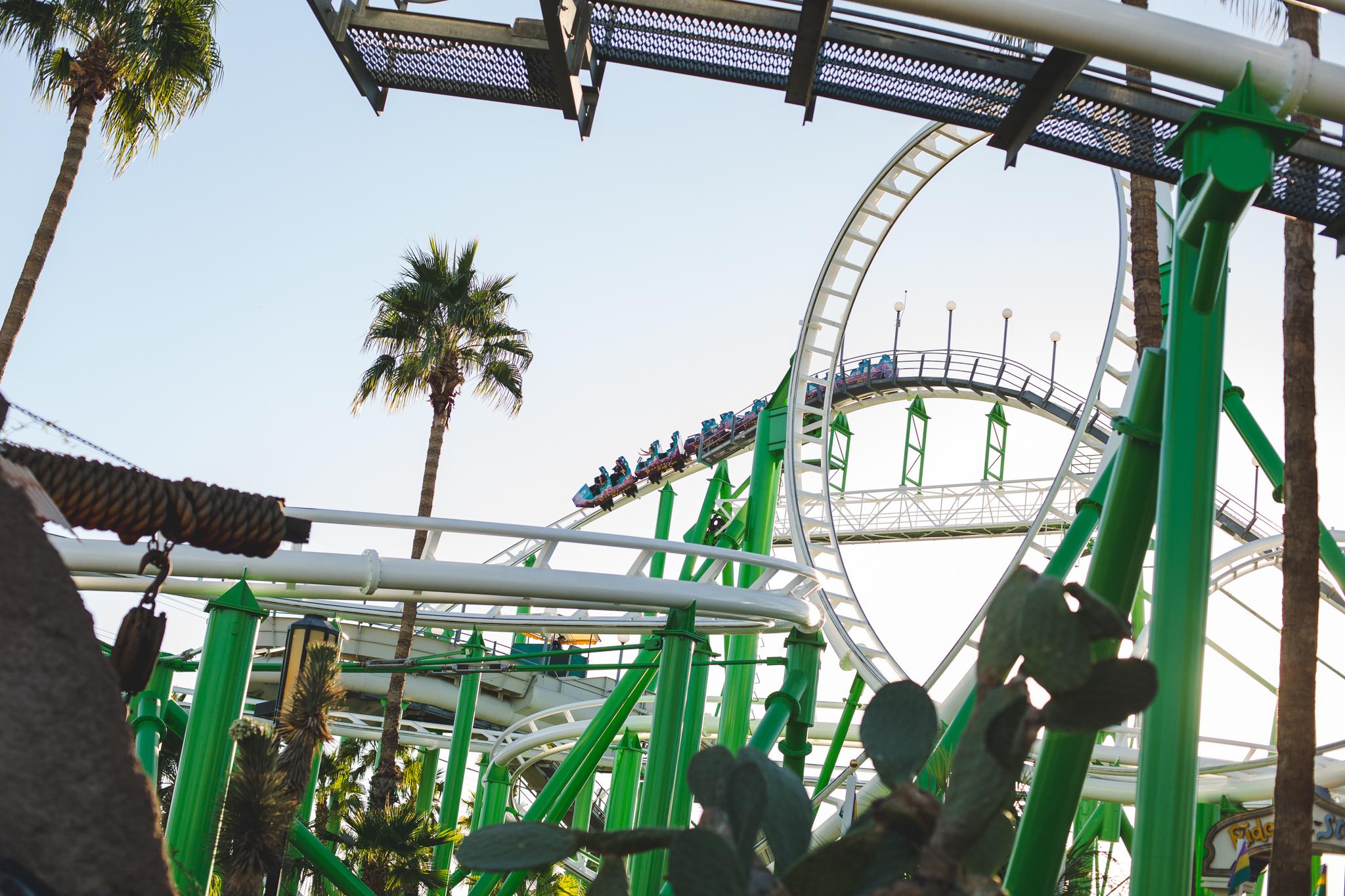 castles n coaster roller coaster