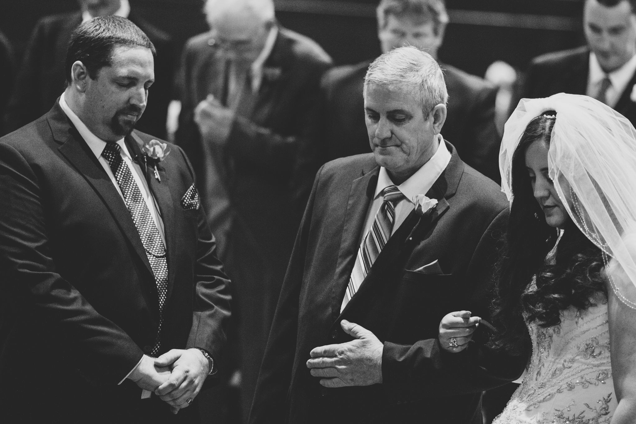 rs father of bride gives away bride