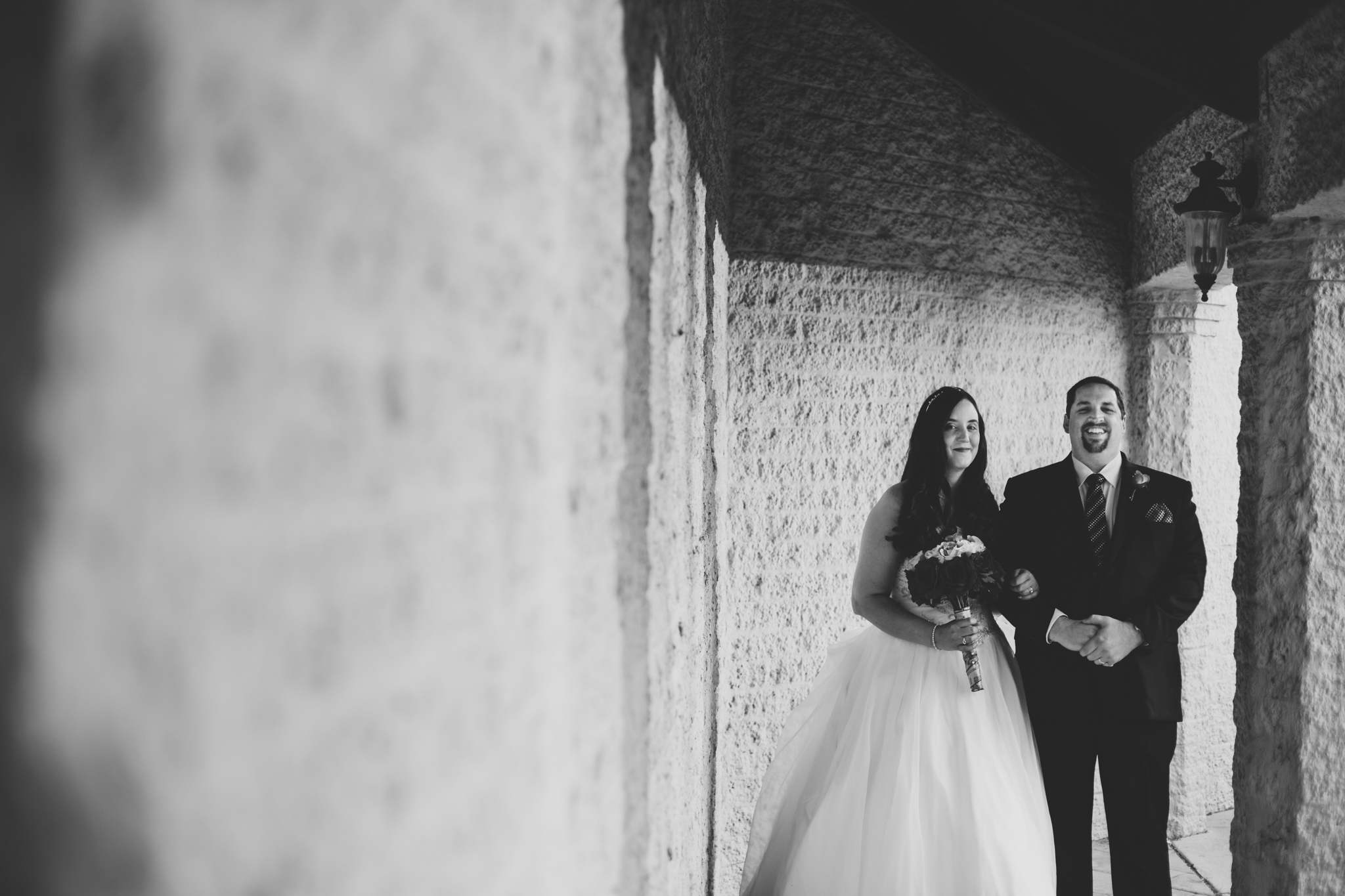 rs black and white creative shot bride groom oklahoma city