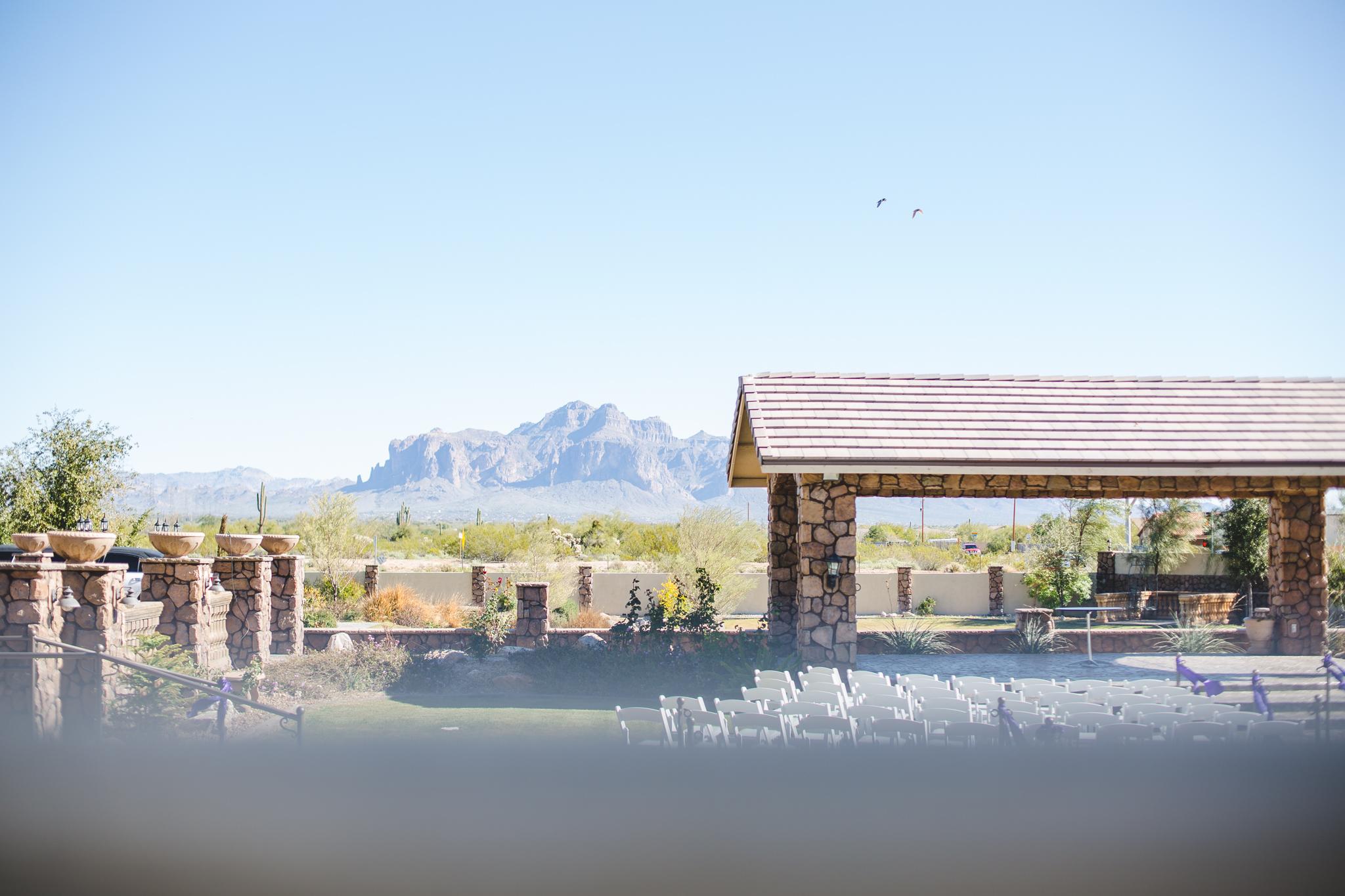 superstition manor ceremony site