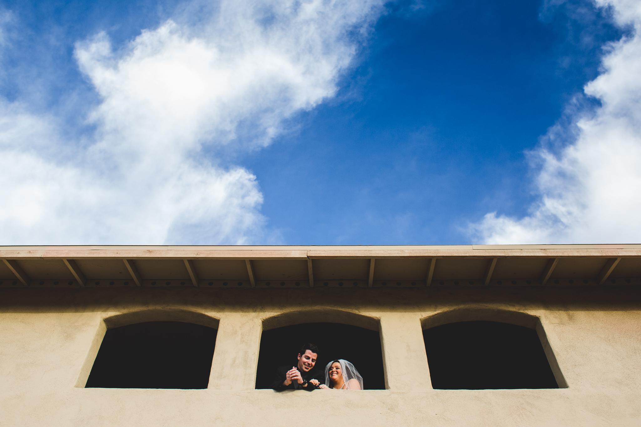aaron kes photography bride groom portrait superstition manor windows mj