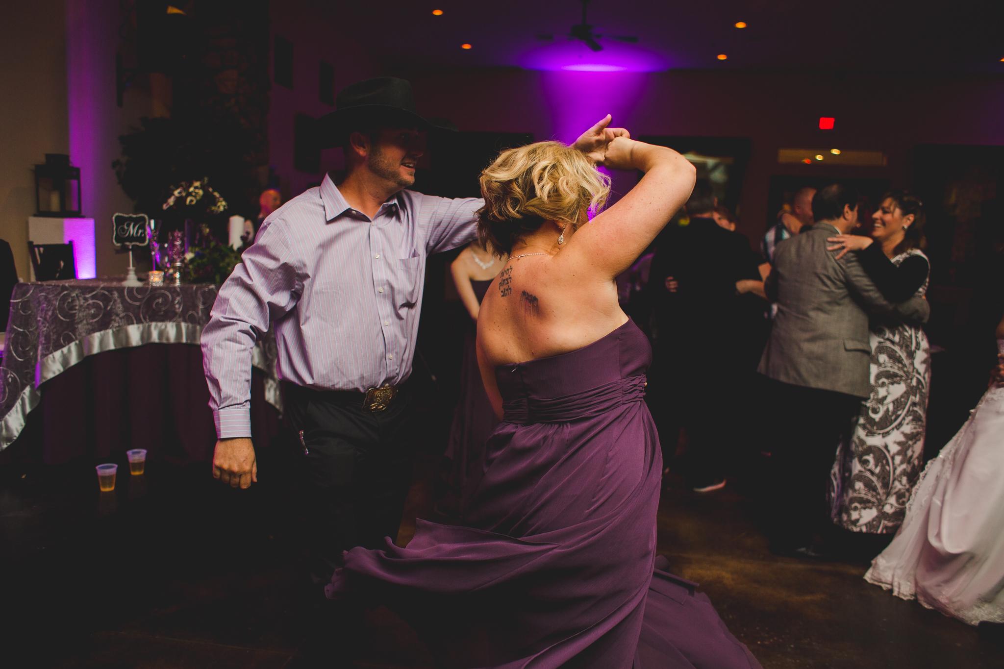 wedding reception dancing mj