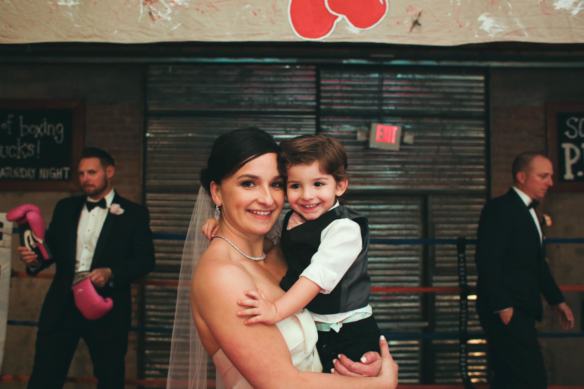 bride and ring bearer hj
