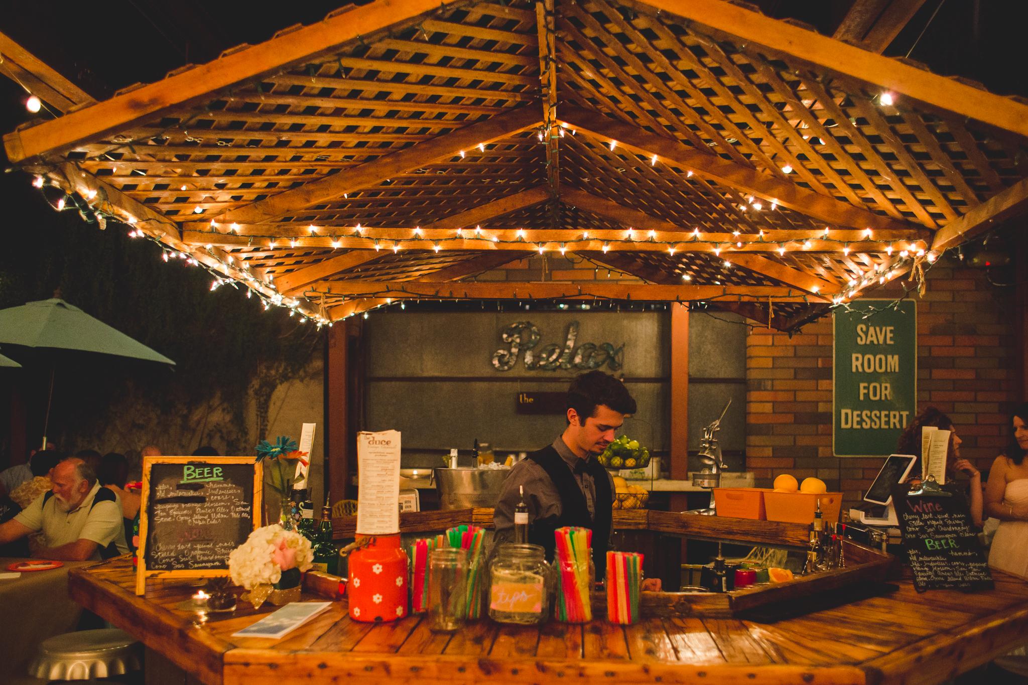 reception bar the duce hj