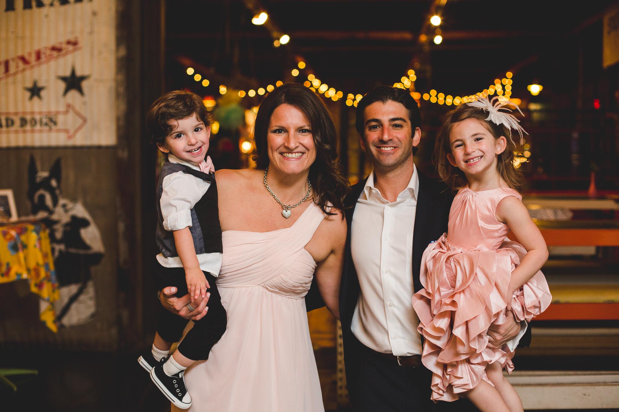 family shot reception hj