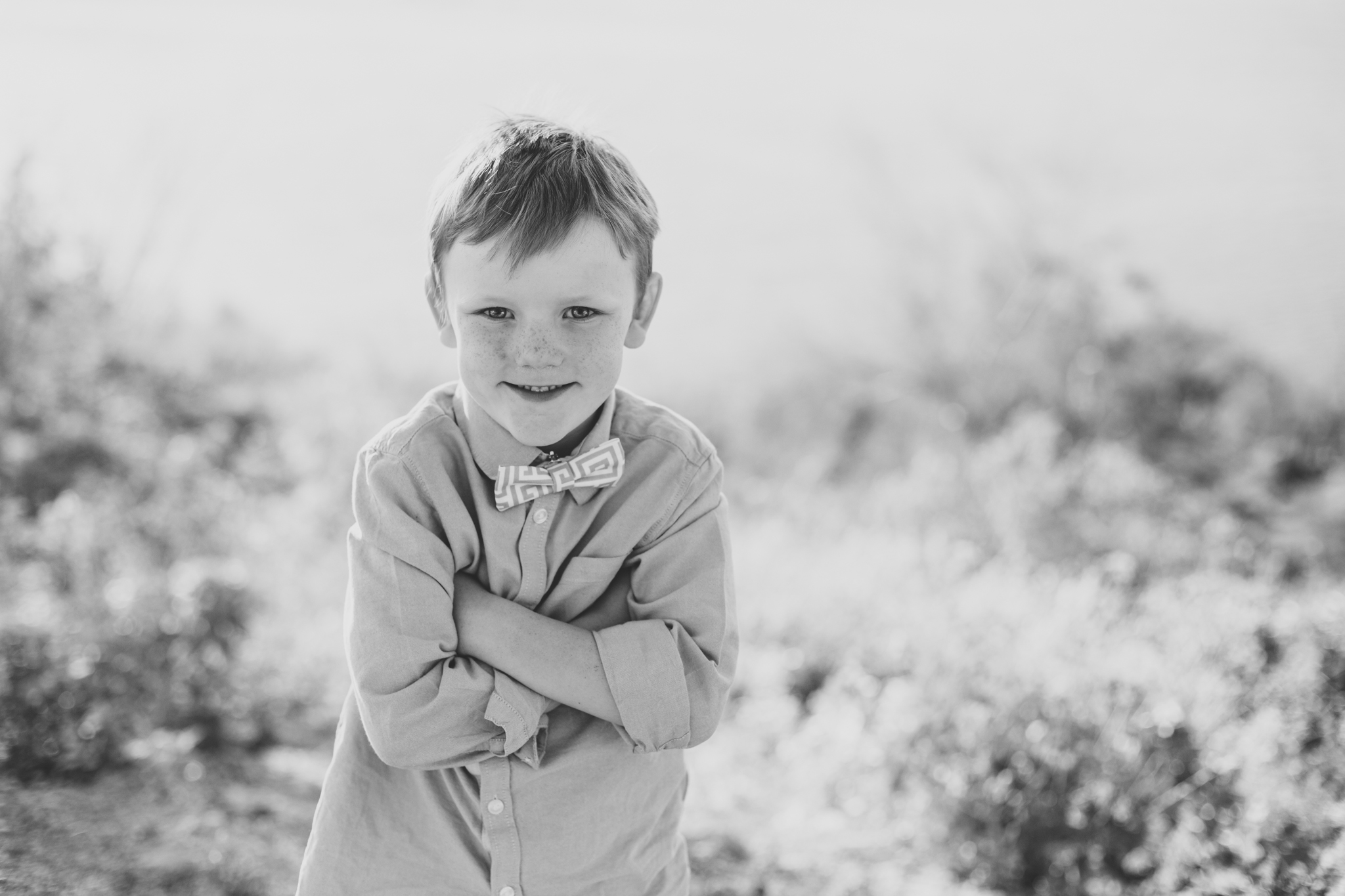 family photography son with arms folded cute