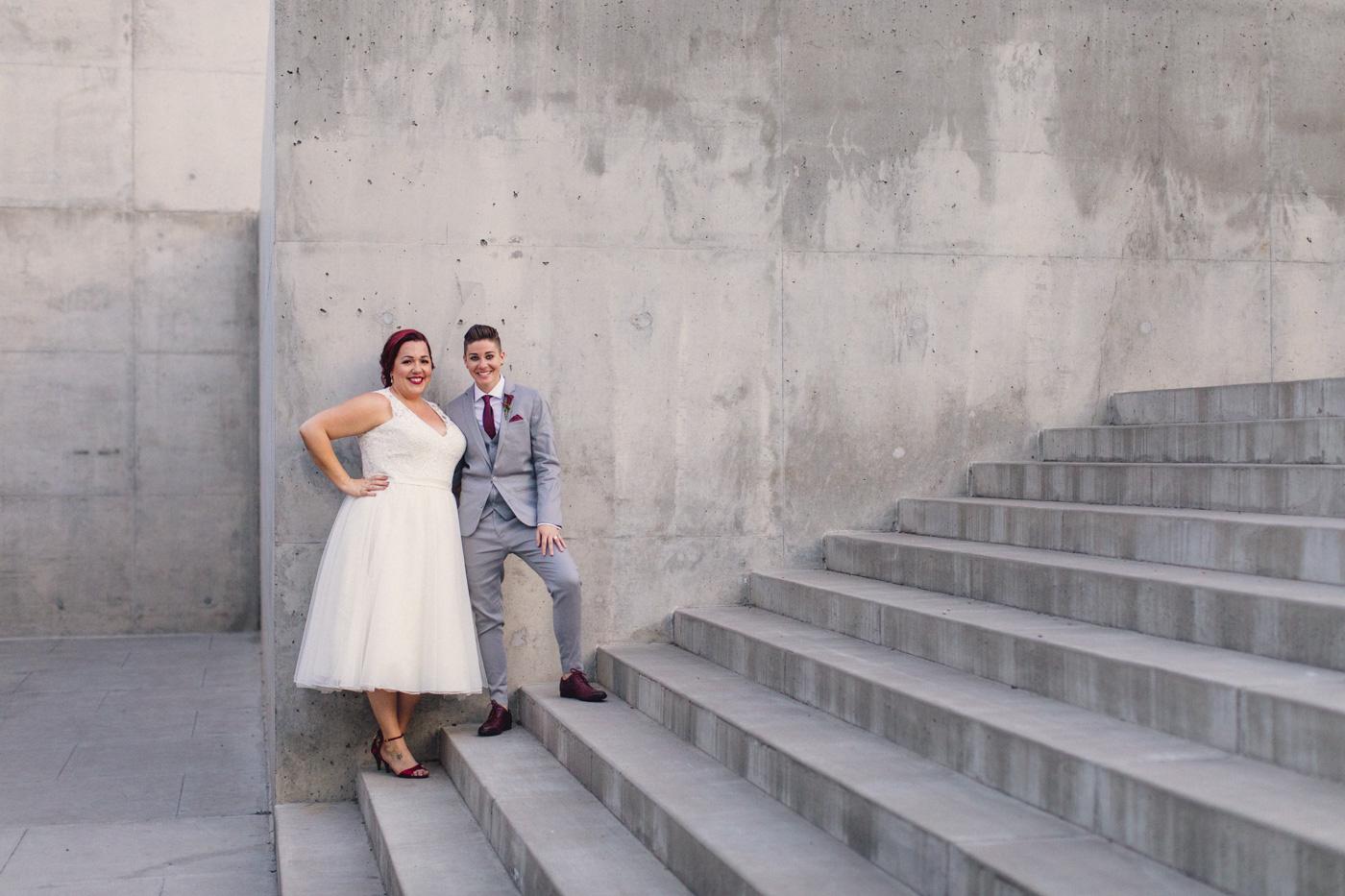 concrete-steps-wedding-portrait