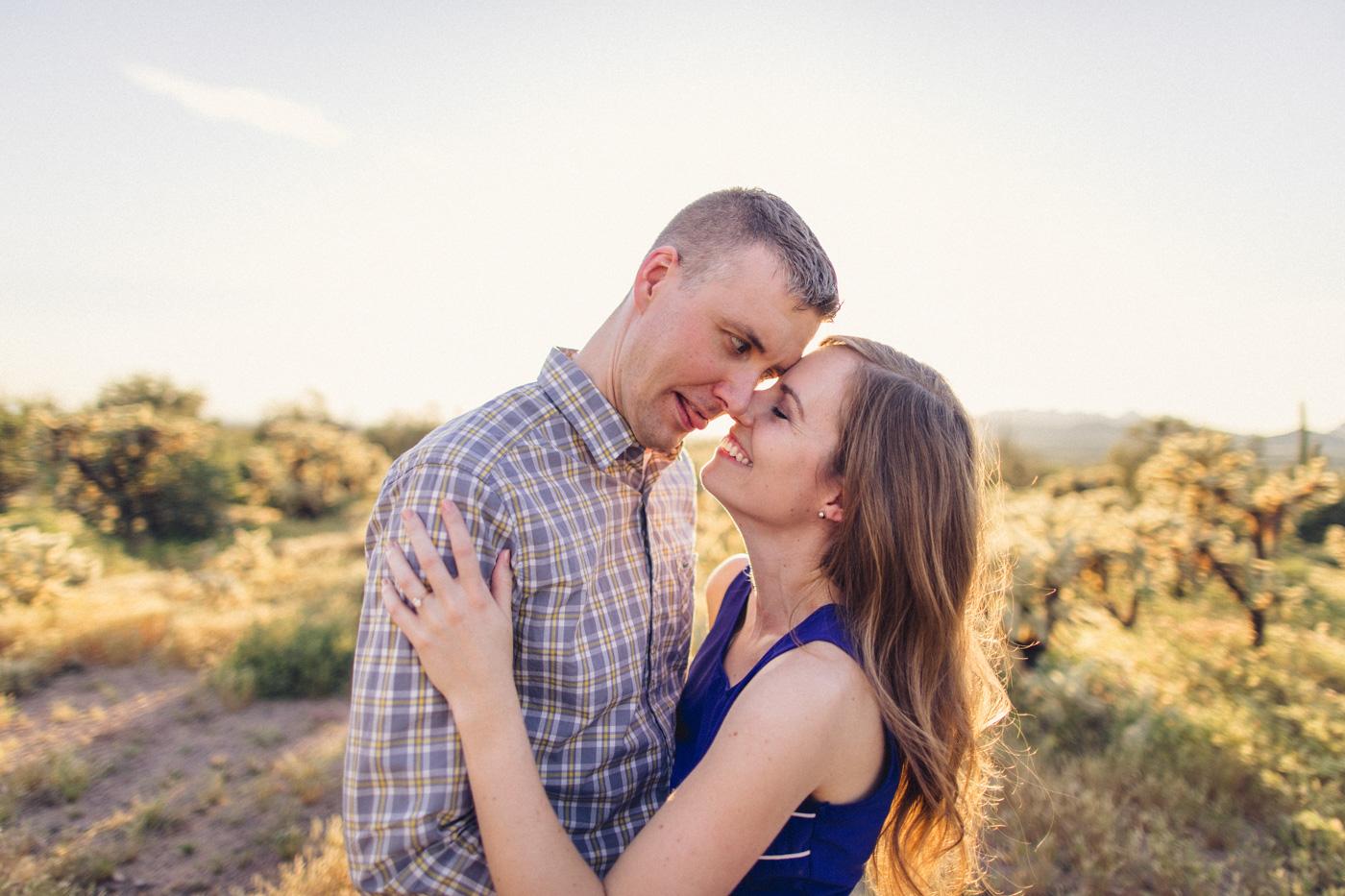 goofy-fun-engagement-photo