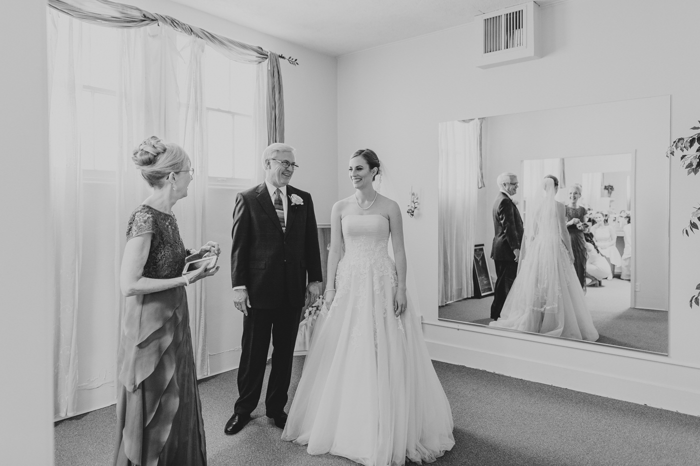 black-and-white-bride-and-parents