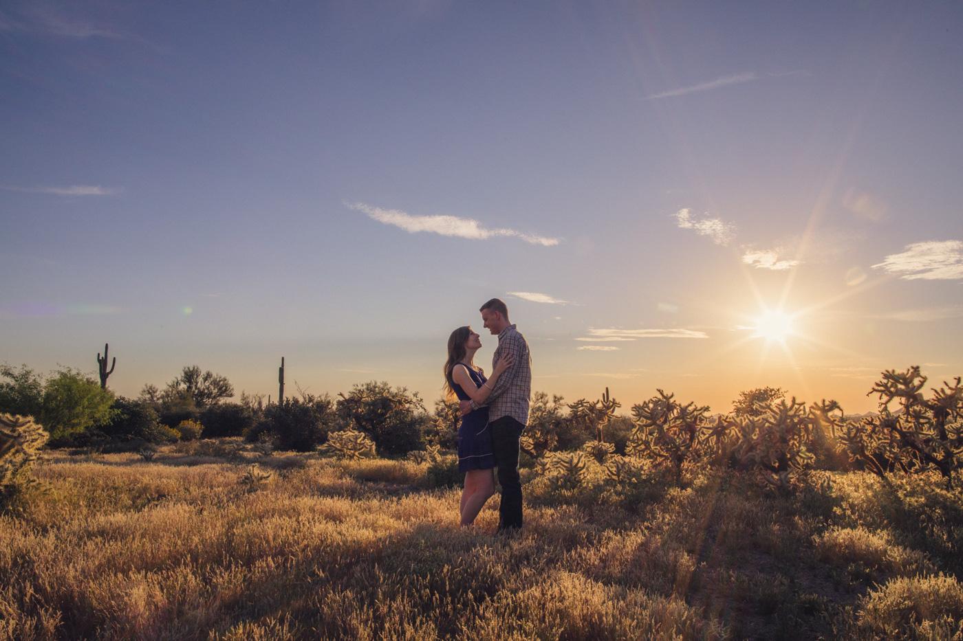 sun-flare-photo-in-desert